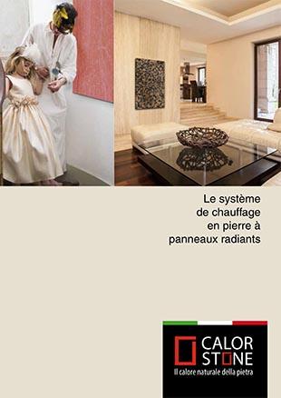 Brochure Calorstone - Le système de chauffage en pierre à panneaux radiants